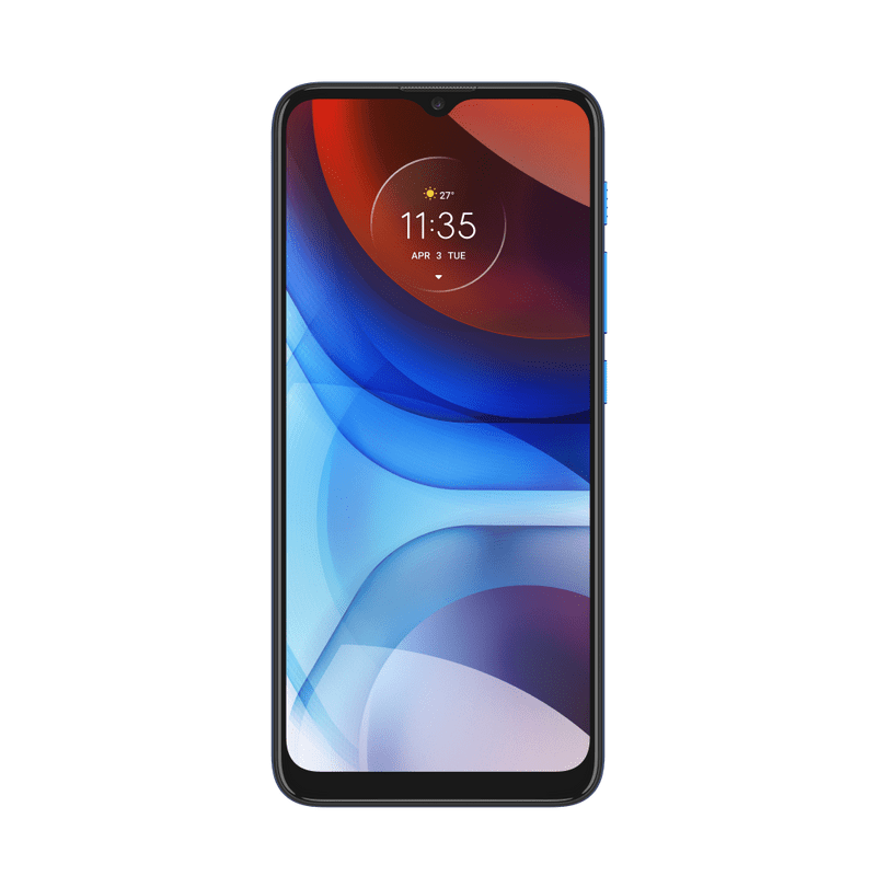 Smartphone-Moto-E7-Power-32GB-Imagem-Frontal-Azul-Metalico-foto-2