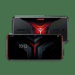 Smartphone-Lenovo-Legion-Dual-128GB-imagem-frontal-e-traseira-Curvada-Vermelho-foto-1