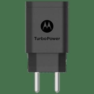 Carregador de Parede Motorola TurboPower™ 18W Sem Cabo USB