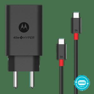 Carregador de Parede Motorola TurboPower™ 45W com cabo USB-C