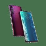 Smartphone-Motorola-edge-128gb-imagem-Frontal-Curvada-midnight-red