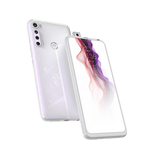Smartphone-Motorola-one-fusion-plus-128gb-Imagem-Frontal-Curvada-Branco-Prisma