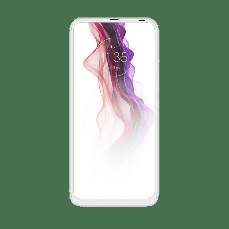 Smartphone-Motorola-one-fusion-plus-128gb-Imagem-Frontal-Branco-Prisma