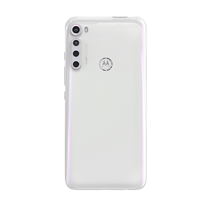 Smartphone-Motorola-one-fusion-plus-128gb-Imagem-Traseira-Branco-Prisma