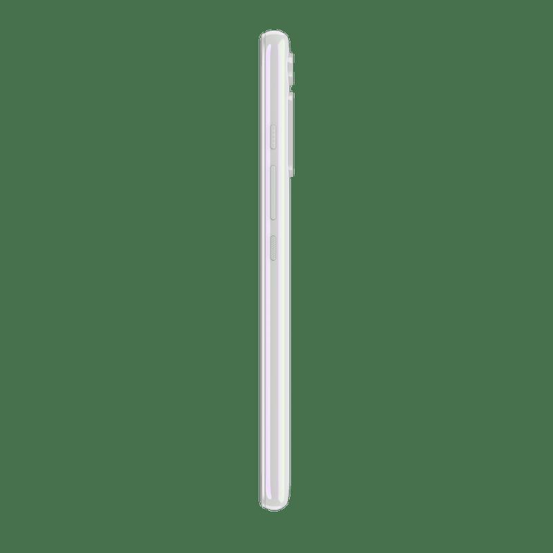 Smartphone-Motorola-one-fusion-plus-128gb-Imagem-lateral-Branco-Prisma