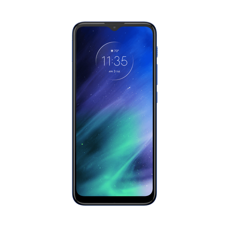 Smartphone-Motorola-one-fusion-64gb-Imagem-Frontal-azul-safira