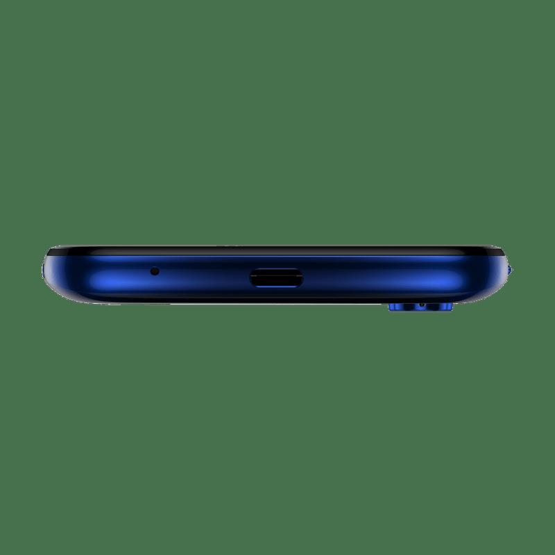 Smartphone-Motorola-one-fusion-64gb-Imagem-das-entradas-azul-safira