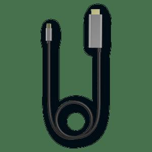 Cabo USB-C / HDMI- Compatível com Ready For