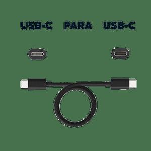 Cabo de dados e carga - conector USB-C para USB-C    1 Metro