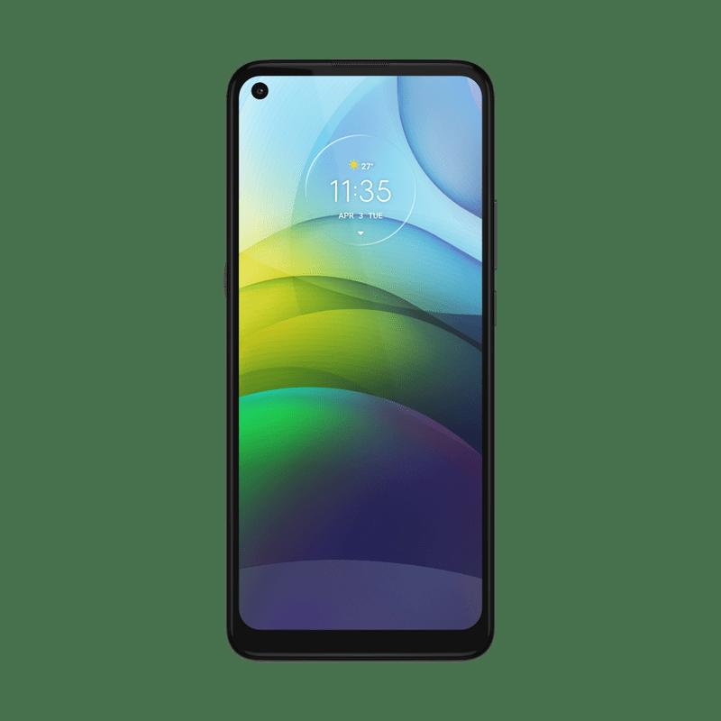 Imagem-frontal-smartphone-moto-g9-power-verde-pacifico