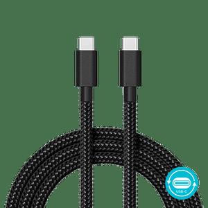 Cabo de dados de carga Motorola USB-C P/ USB-C 1.5 metros acabamento cordão