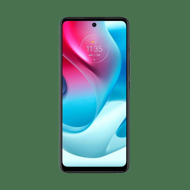 smartphone-moto-g60s-imagem-frontal-tela-azul