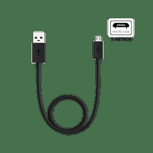 Cabo de dados e carga - conector  Micro USB - 2 metros