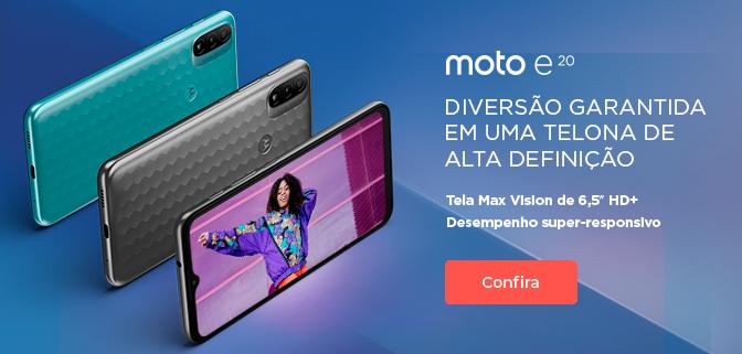 [ ON ] Moto E20